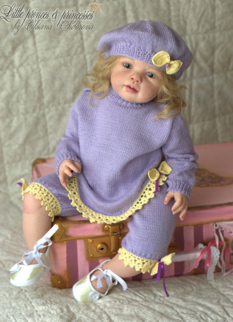 reborn toddler girl elizabeth from kit louisa by jannie de lange