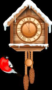 зимние часы