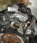 Двигатель M 112.912 2.6 л, 170 л/с на MERCEDES-BENZ. Гарантия. Из ЕС.