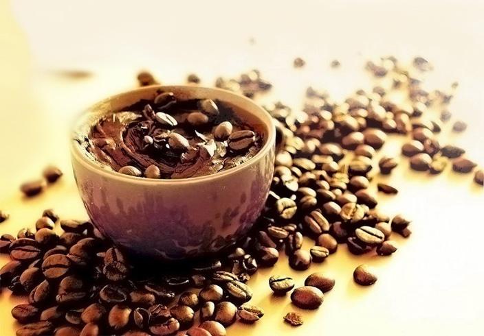 сделать скраб из кофе
