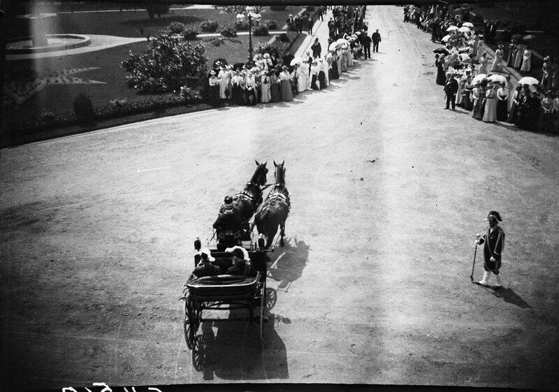 Экипаж в Карлсруэ, 1900