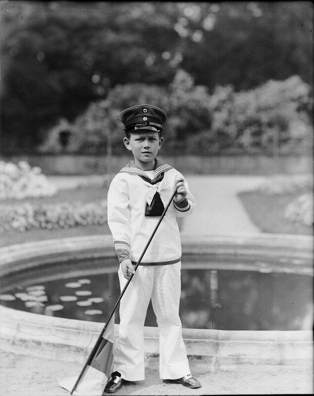Принц Леннарт, 1914