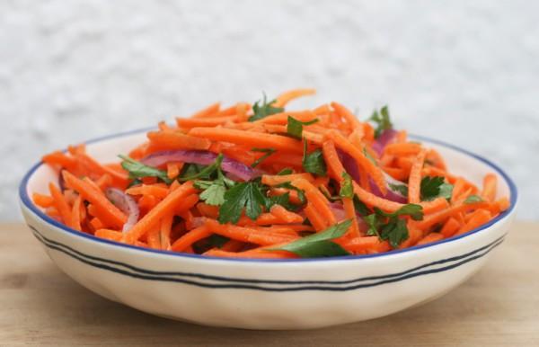 Салат из картофеля с вином