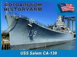 Книга Американский тяжелый крейсер USS Salem CA-139