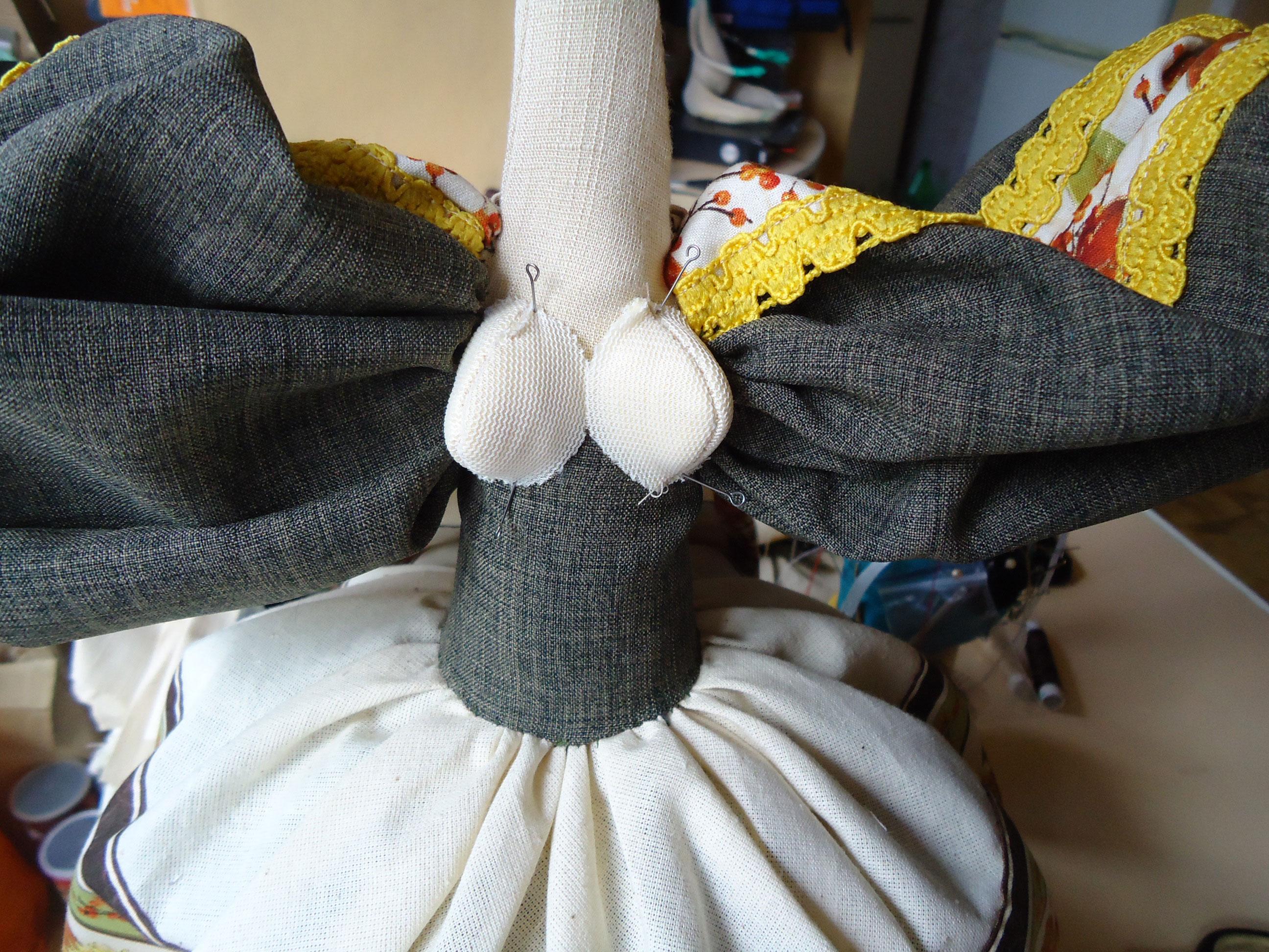 Изготовление куклы на чайник, мастер-класс