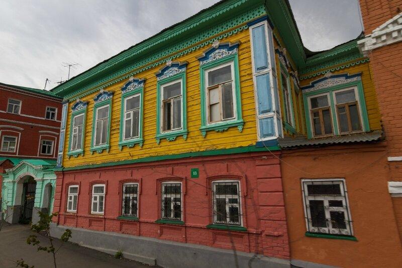 Старинный дом в Казани