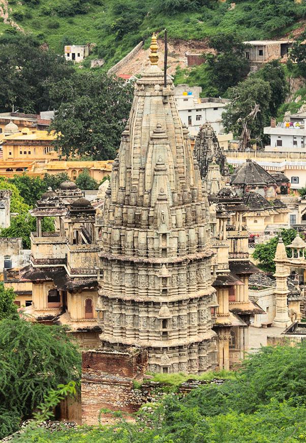 Фотография 18. Индуистский храм. Поездка в Джайпур.