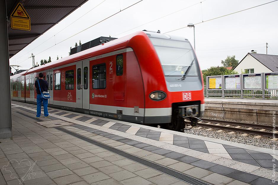 Мюнхен транспорт из аэропорта фото