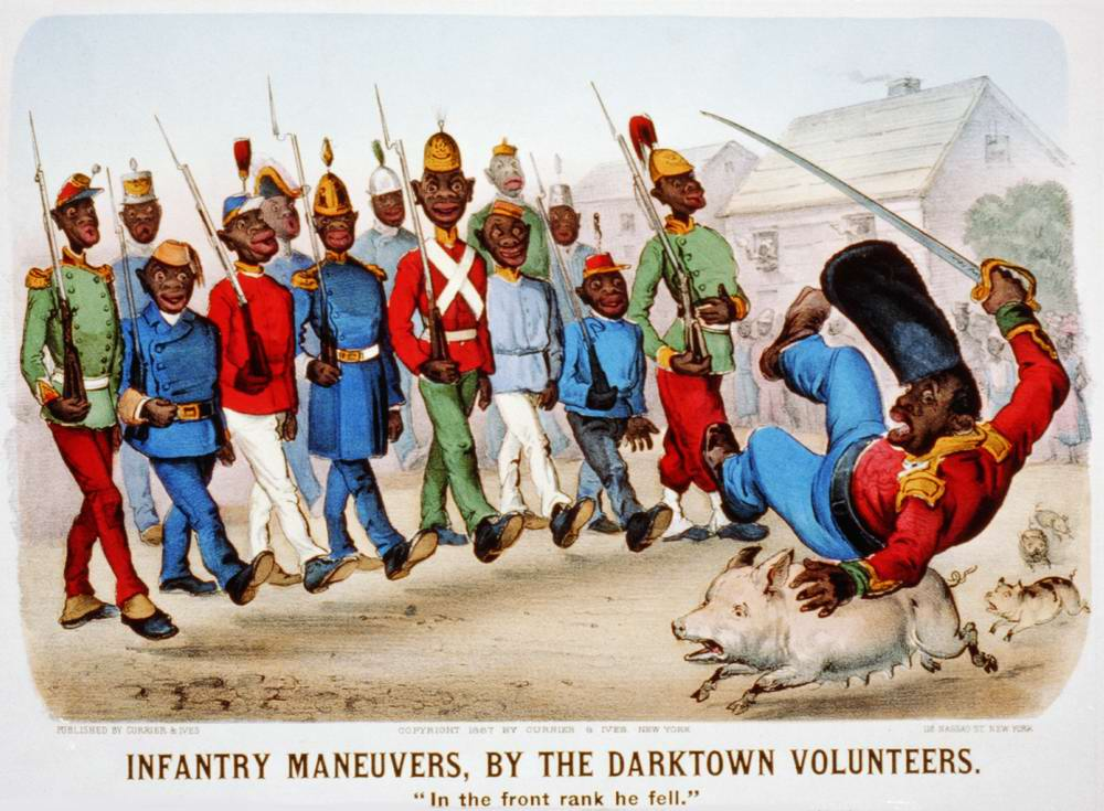 Пехотные маневры дарктаунских добровольцев