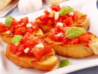 Итальянские бутерброды кростини