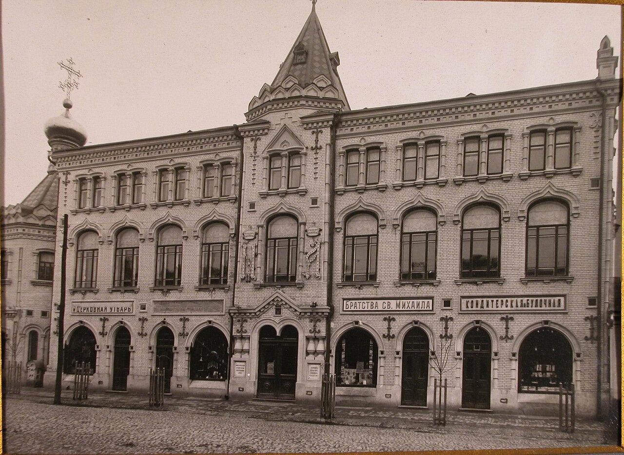 02. Вид лицевого фасада Епархиального дома