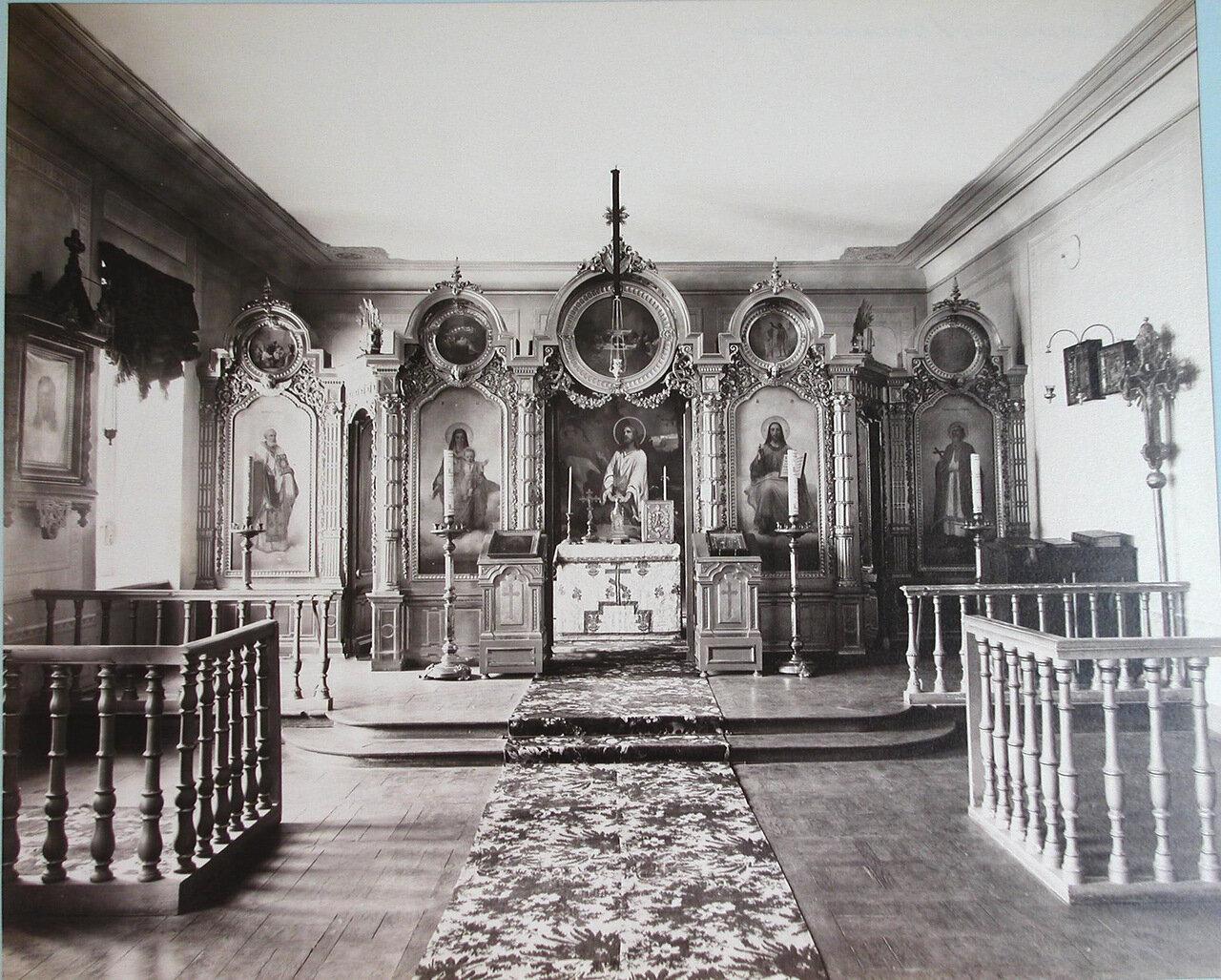 05. Внутренний вид церкви Первой Киевской гимназии