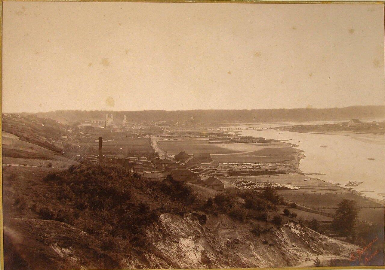 13. Вид на левый берег реки Вилии