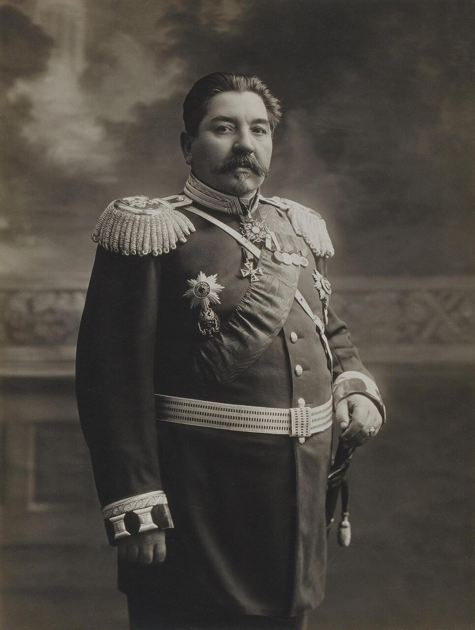 Портрет военного врача Александра Яковлевича Евдокимова. 1910