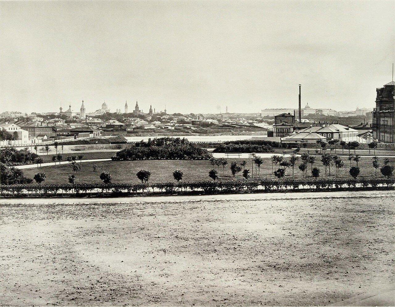 346. Вид Замоскворечья и Бабьегородской плотины