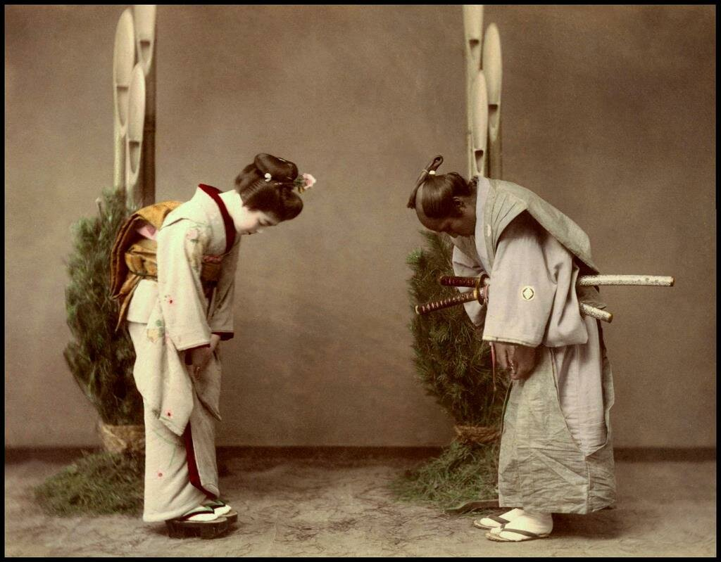 Гейша встречает самурая