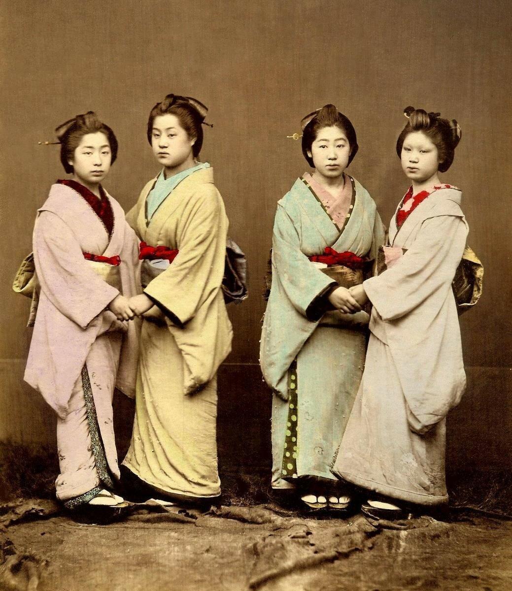 Четыре гейши