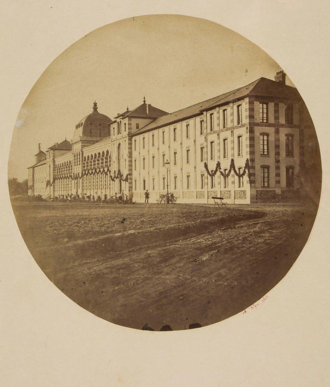 1850. Больница св. Евгении