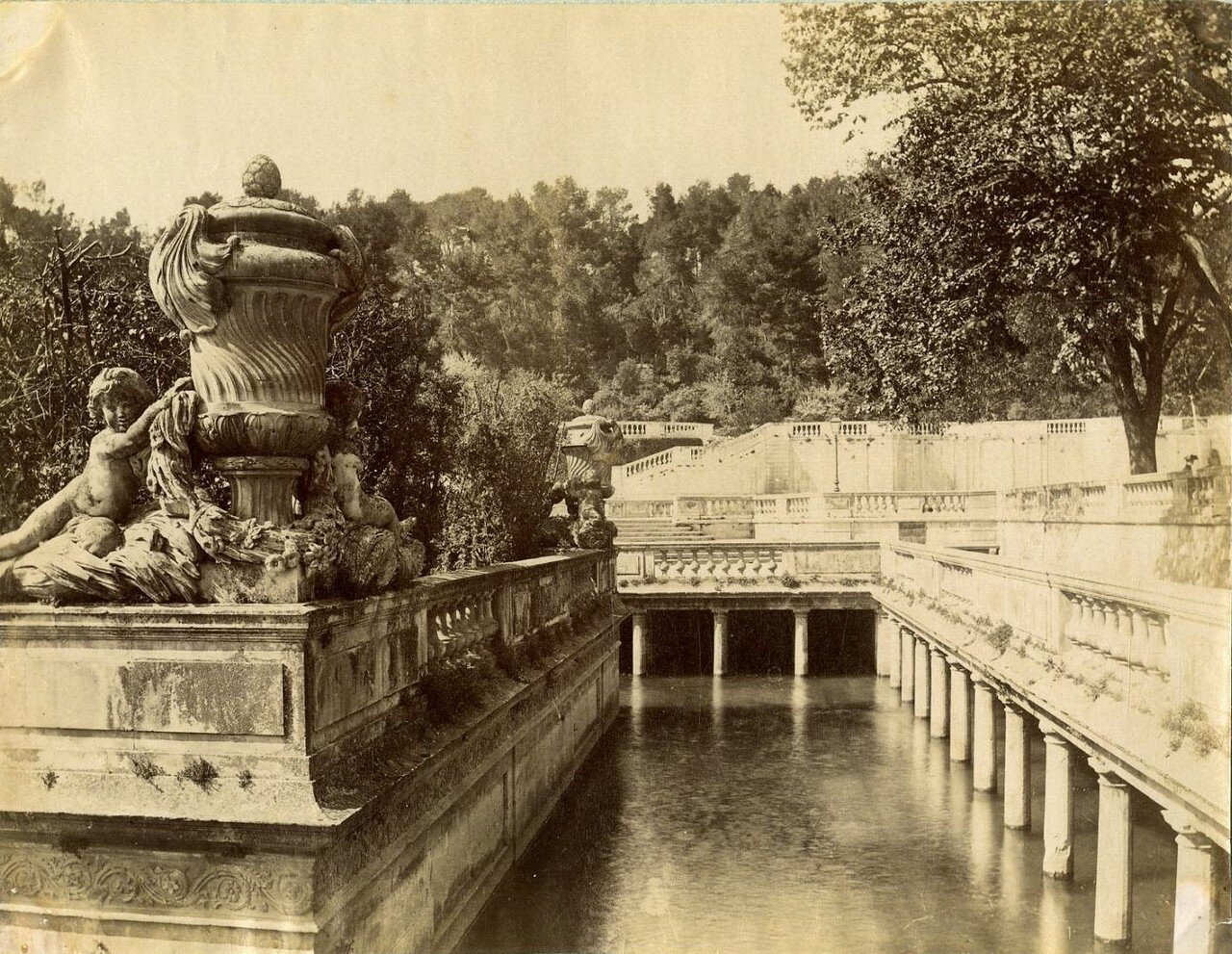 Римские бани. 1875