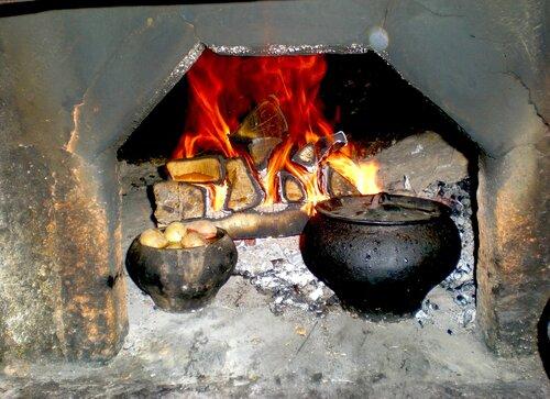 Русская печь-кормилица
