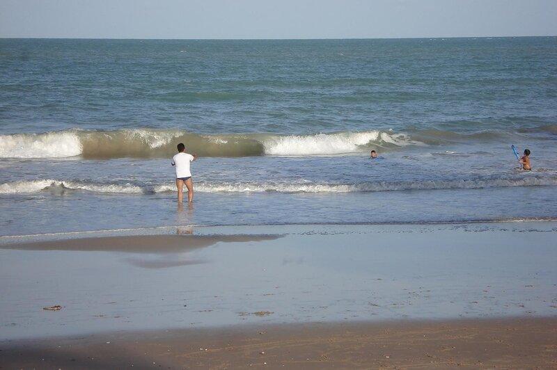 Пляж Манаира у дома