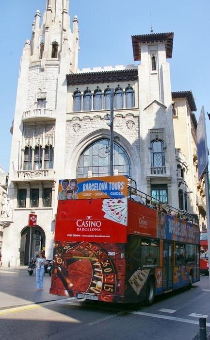 Bus Turistic: Барселона
