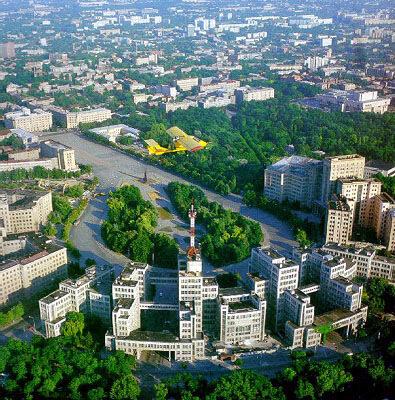 Как Харьков повлиял на облик столичного Киева