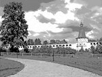 Монастырская стена, рисунок № 3
