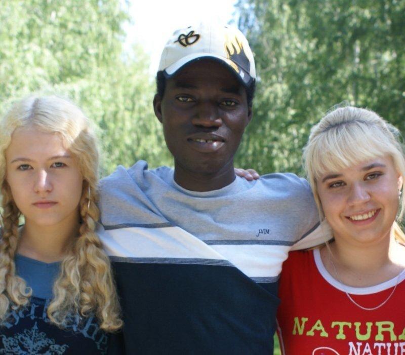 Русские девки и негры