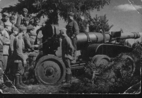Учёба в 102-й гаубичной артиллерийской бригаде
