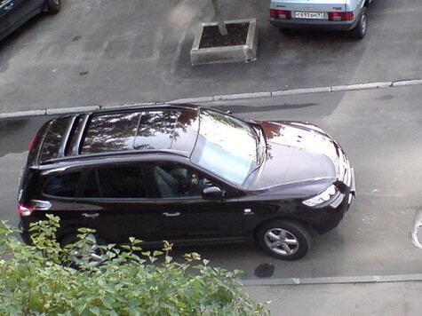 Денис восторгается Hyundai Santa Fe