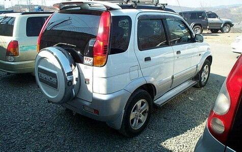 Daihatsu Terios - Машина стоит своих денег