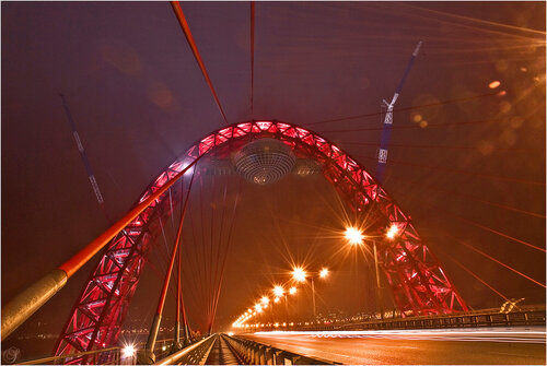 мост в Крылатском