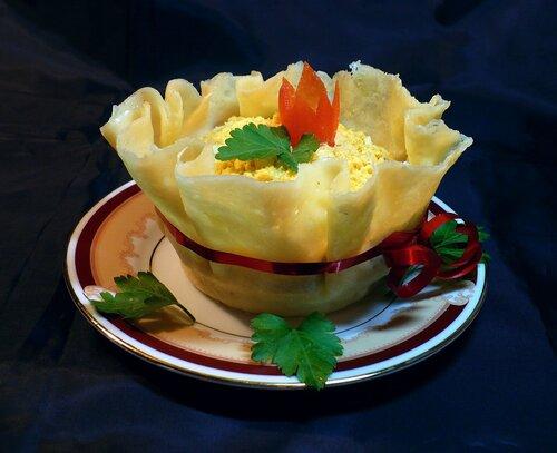 svetaanat — «Салат из курицы с сыром в сырной корзиночке» на Яндекс.Фотках