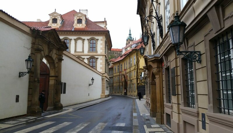 По улицам Праги