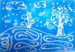 Макарова Анастасия (рук. Петелина Яна Алексеевна ) - Снежная ночь