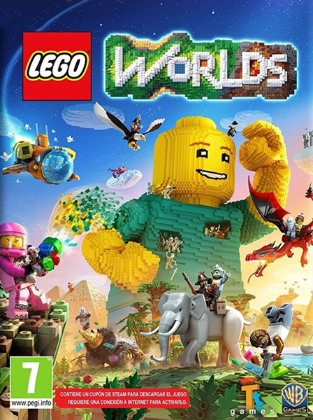 LEGO Worlds (2017/RUS/ENG/MULTi20/Repack)