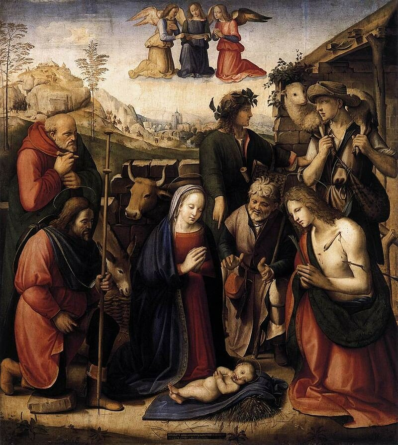 800px-Ridolfo_Ghirlandaio_-_Adoration_of_the_Shepherds1510.jpg