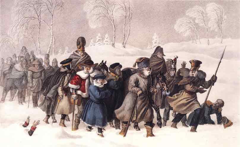 Жестокие русские и судьба Европейского Интернационала Завоевателей.  1812 г.