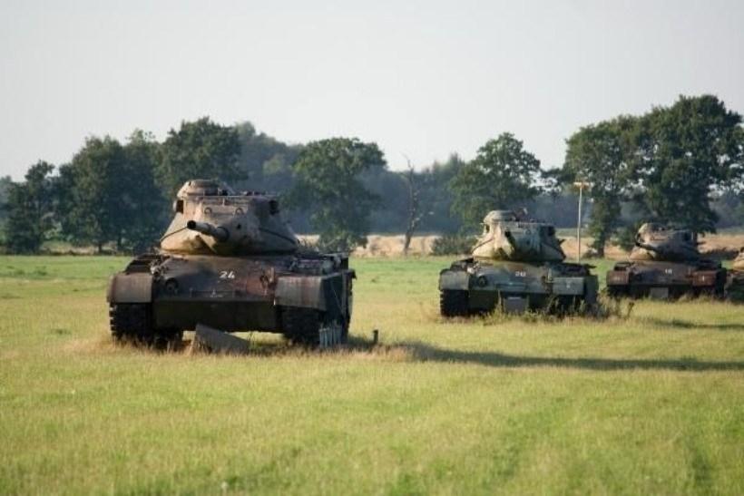 Кладбище танков возле города Зегель