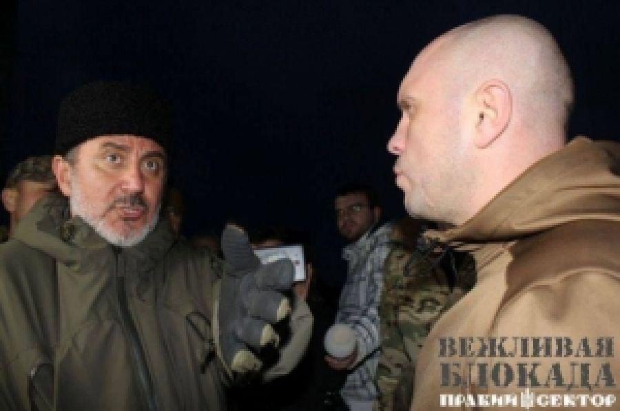 Нацгвардия выполняет преступный приказ власти - силовым путем воспрепятствовать Блокаде Крыма