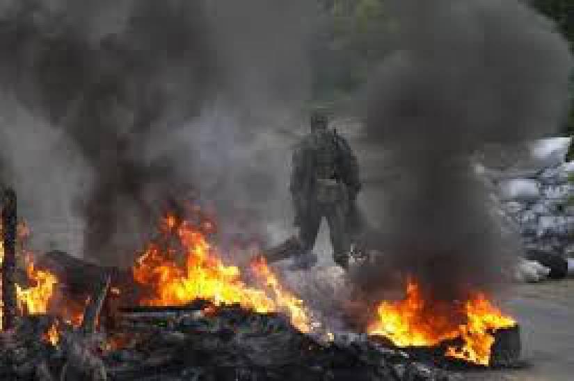 Боевики почти два часа вели интенсивный обстрел позиций сил АТО у Водяного, - пресс-офицер