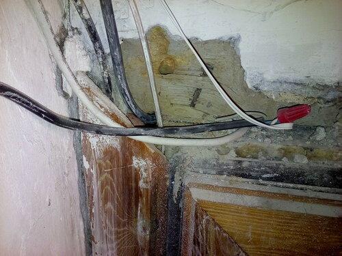 Замена ранее выведенного из эксплуатации вводного кабеля квартиры