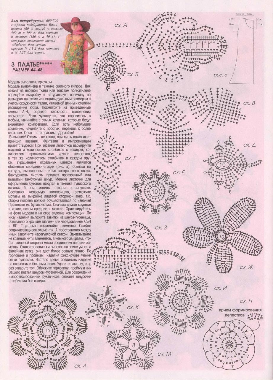 актуальная журнал мод вязание картинки со схемами вылет переднего