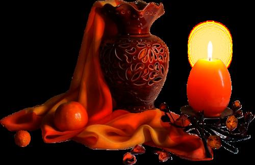 вазы, свечи