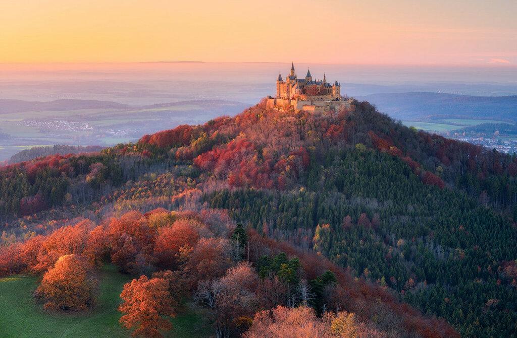 Замок Гогенцоллерн, Баден-Вюртемберг, Германия