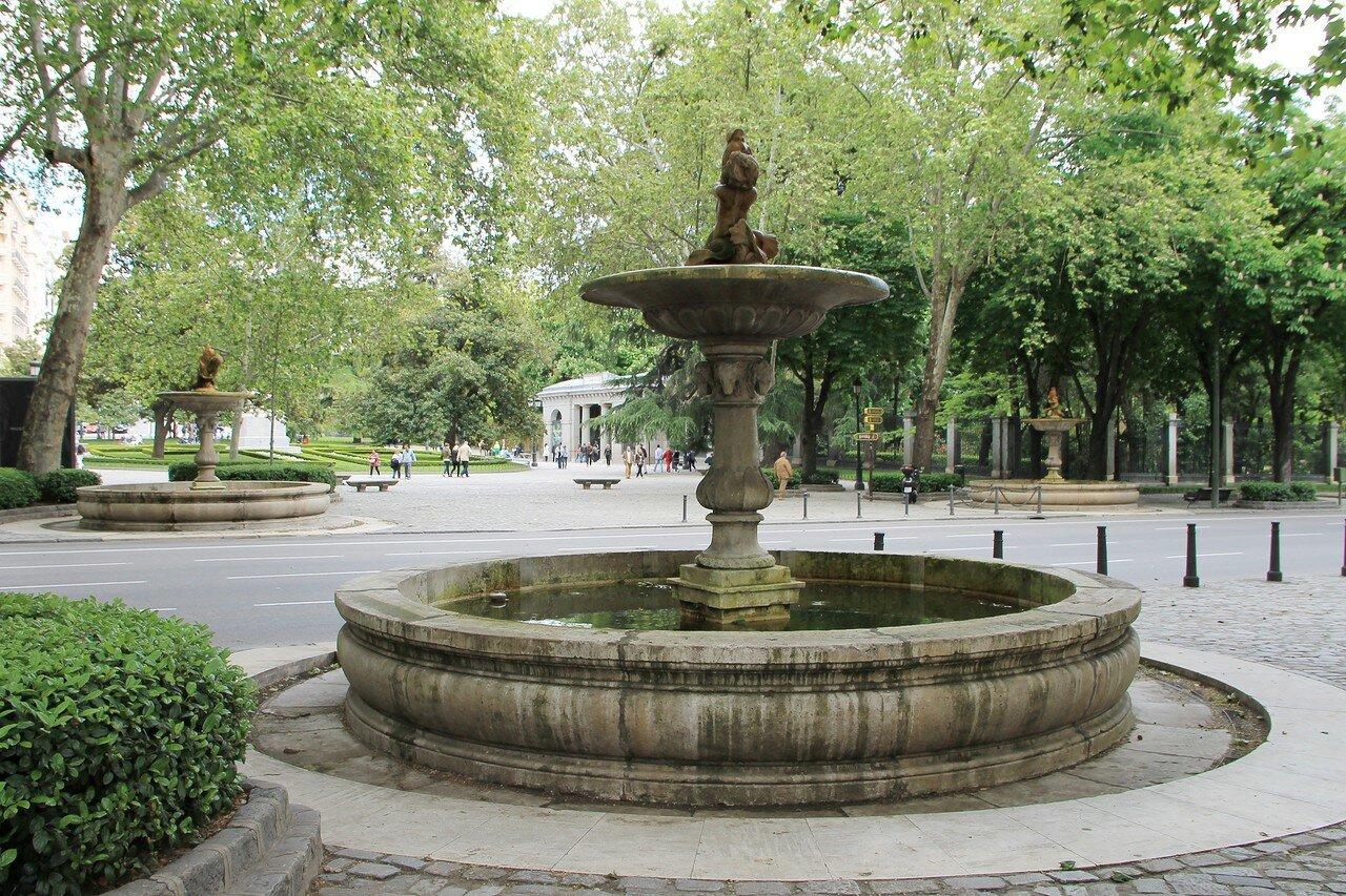 Мадрид. Аллея Прадо (Paseo del Prado)