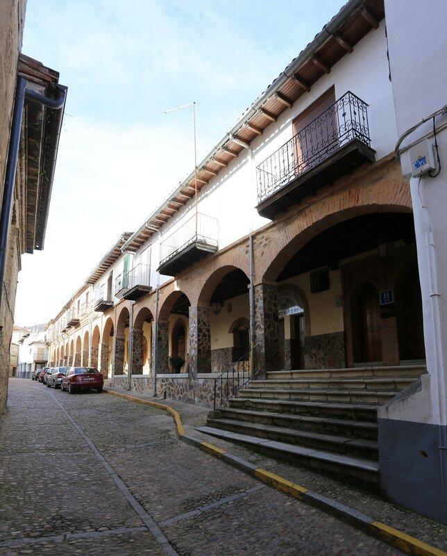 Mudéjar gallery (Galería Mudéjar), Guadalupe