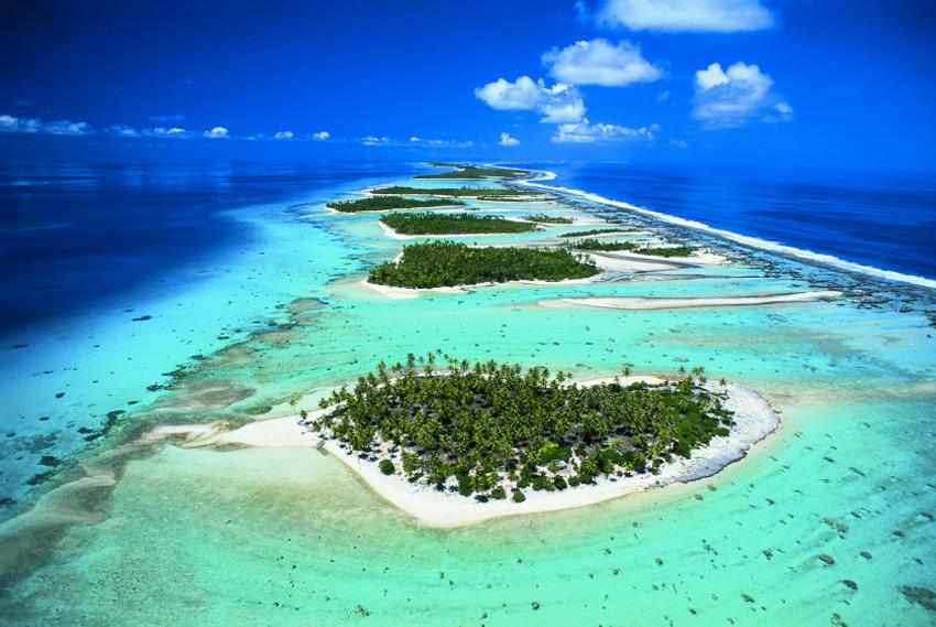 19. Рангироа, Французская Полинезия Этот крупнейший атолл Архипелага Туамоту включает в себя 415 неб