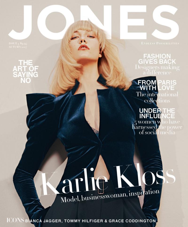 Карли Клосс в JONES Magazine (8 фото)